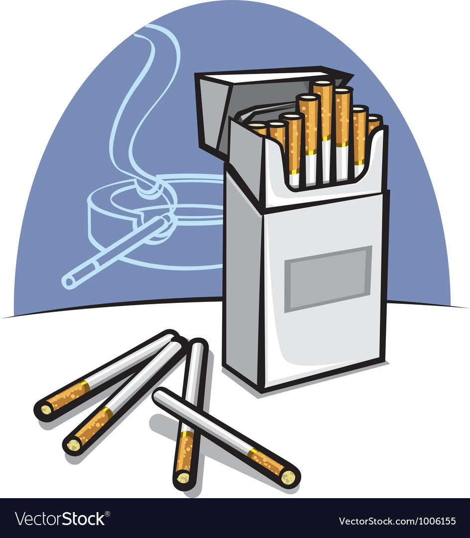 Cigarettes vector | Price: 3 Credit (USD $3)