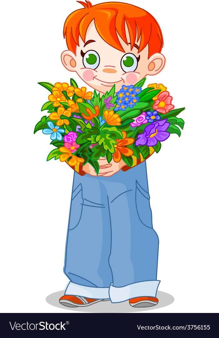 Flowerboy vector | Price: 1 Credit (USD $1)