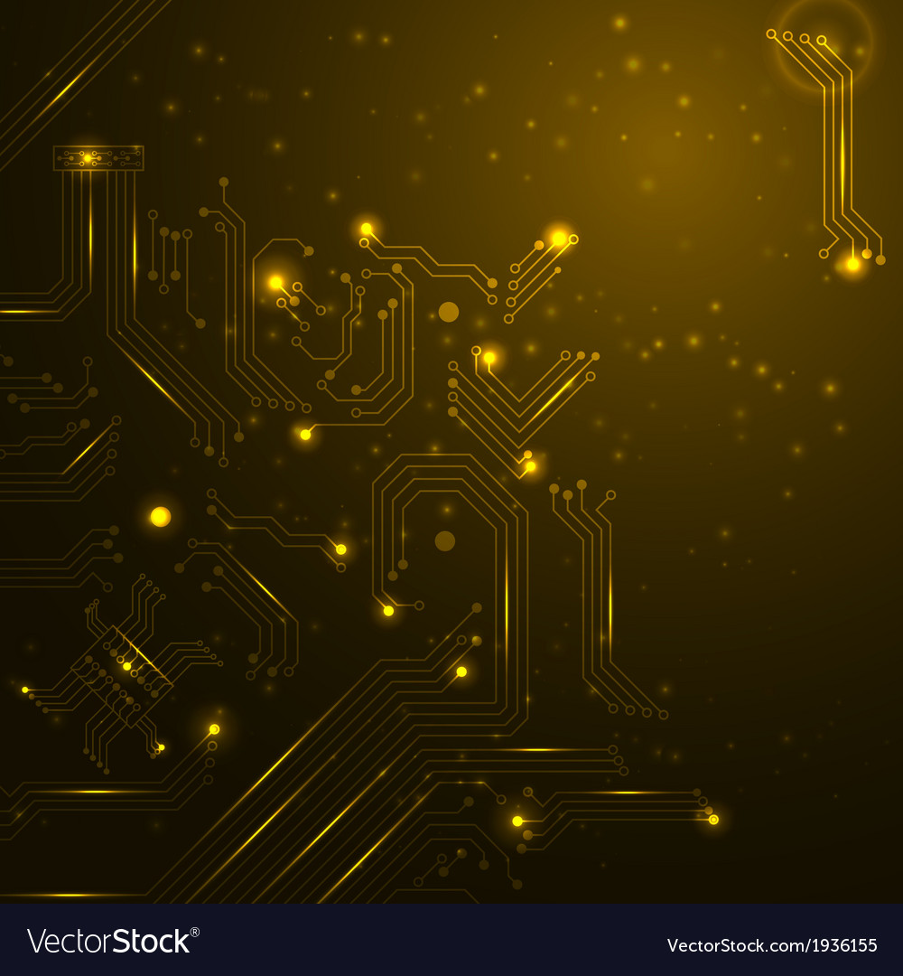 Technology background with circuit board elements vector   Price: 1 Credit (USD $1)