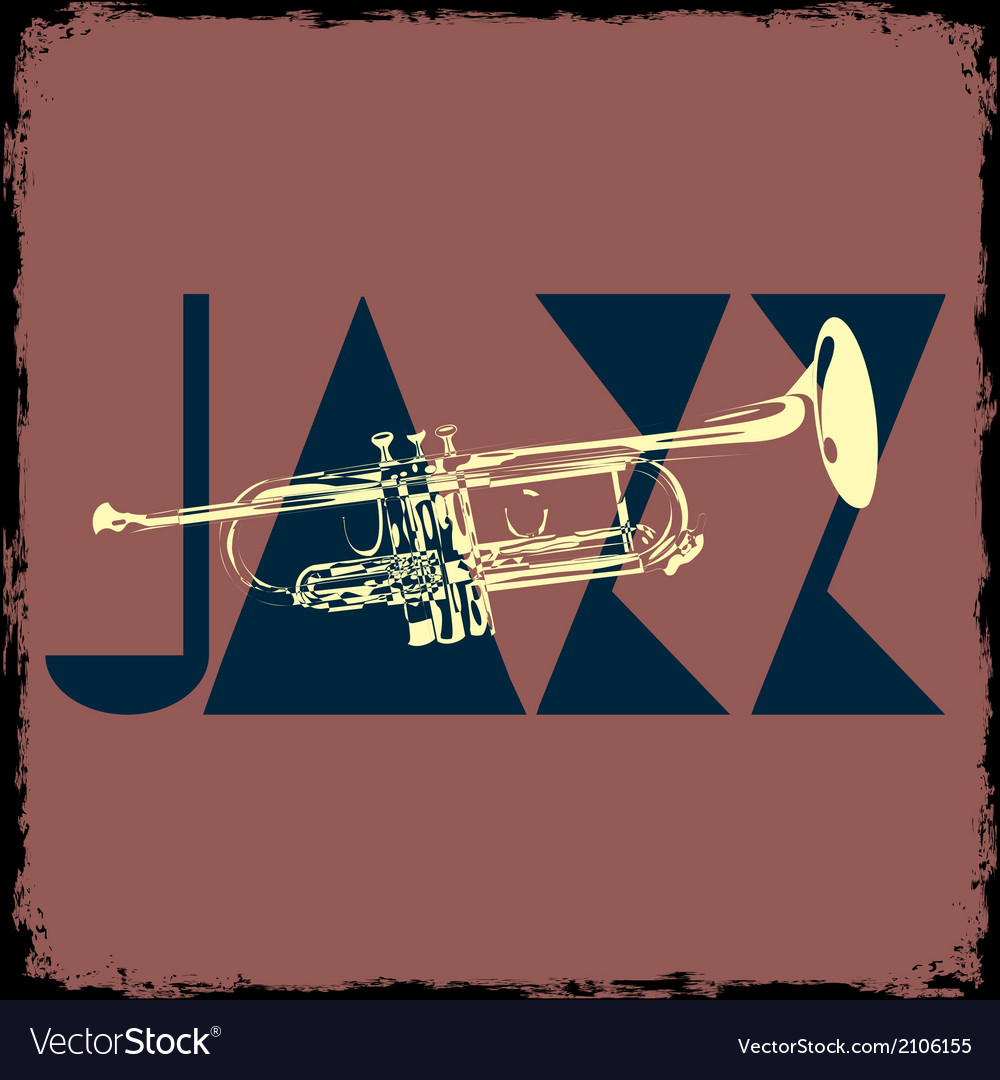 Trumpet musical background vector | Price: 1 Credit (USD $1)