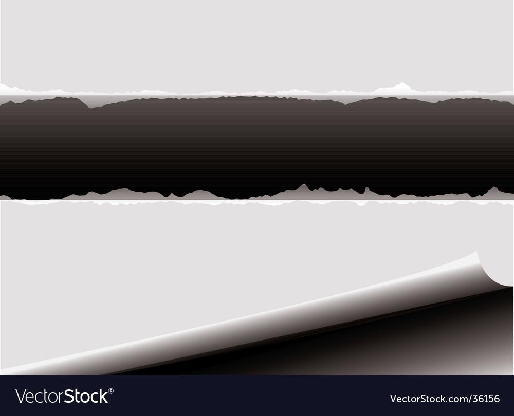 Curl rip vector | Price: 1 Credit (USD $1)