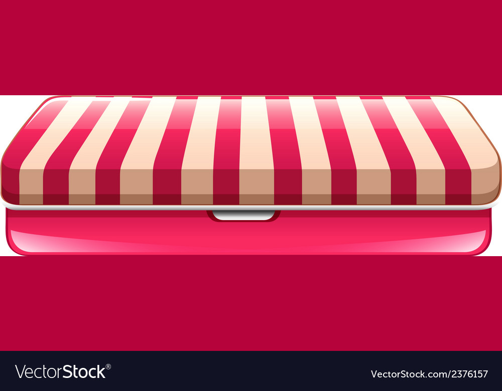 A pencil case vector | Price: 1 Credit (USD $1)