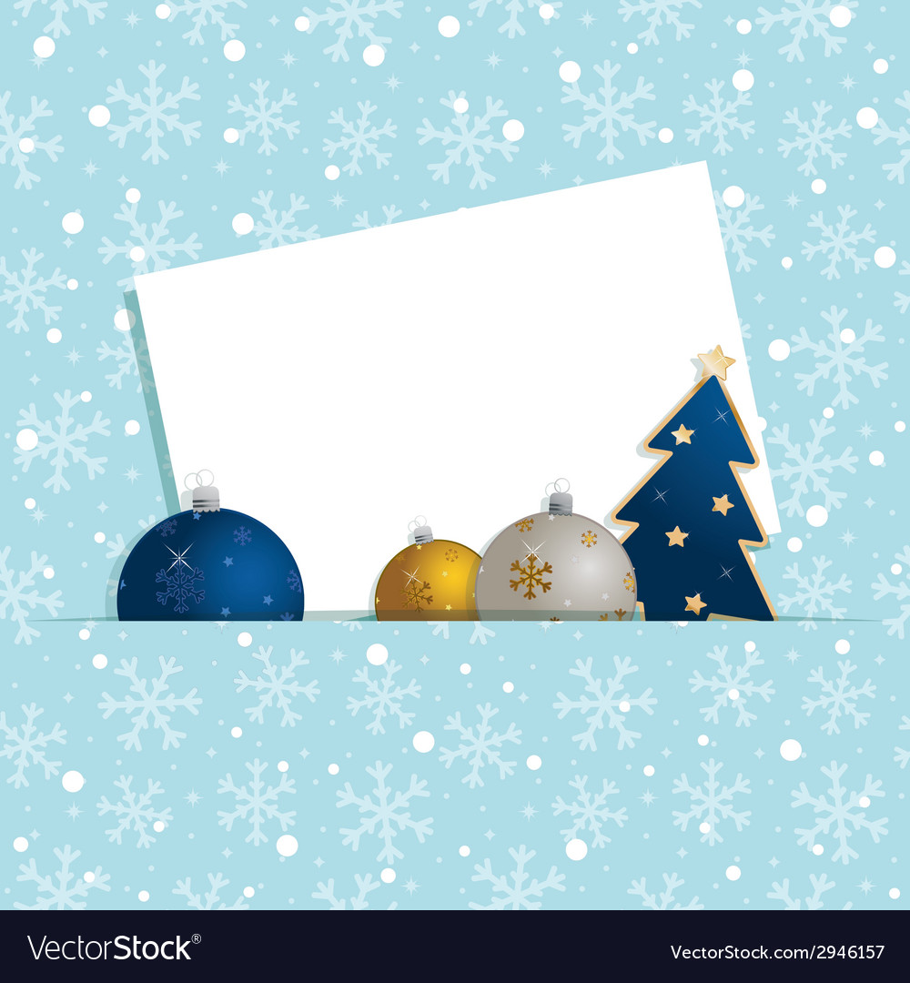 Christmas snowflake decoration vector | Price: 1 Credit (USD $1)