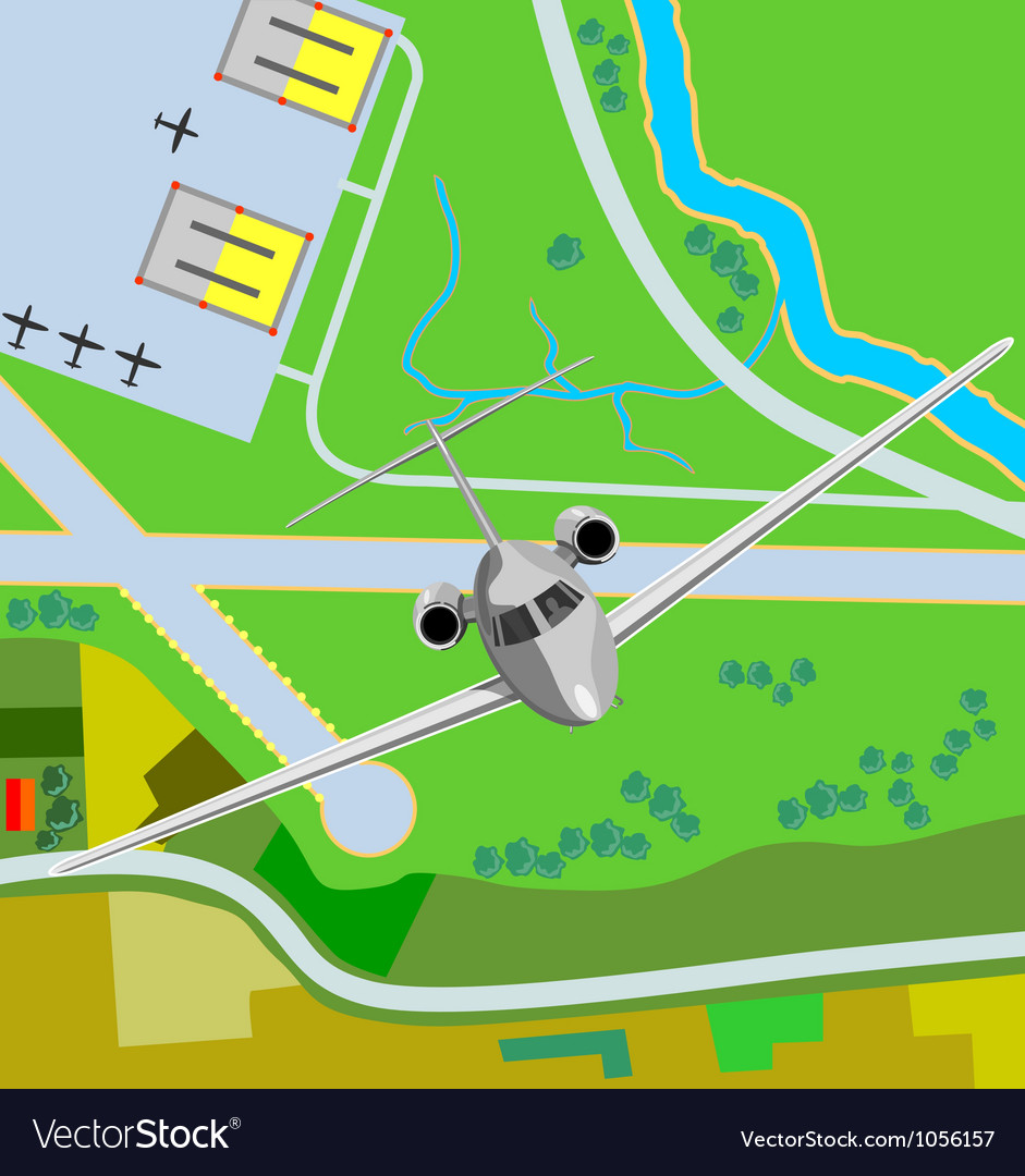 Commercial jet plane airliner vector | Price: 3 Credit (USD $3)