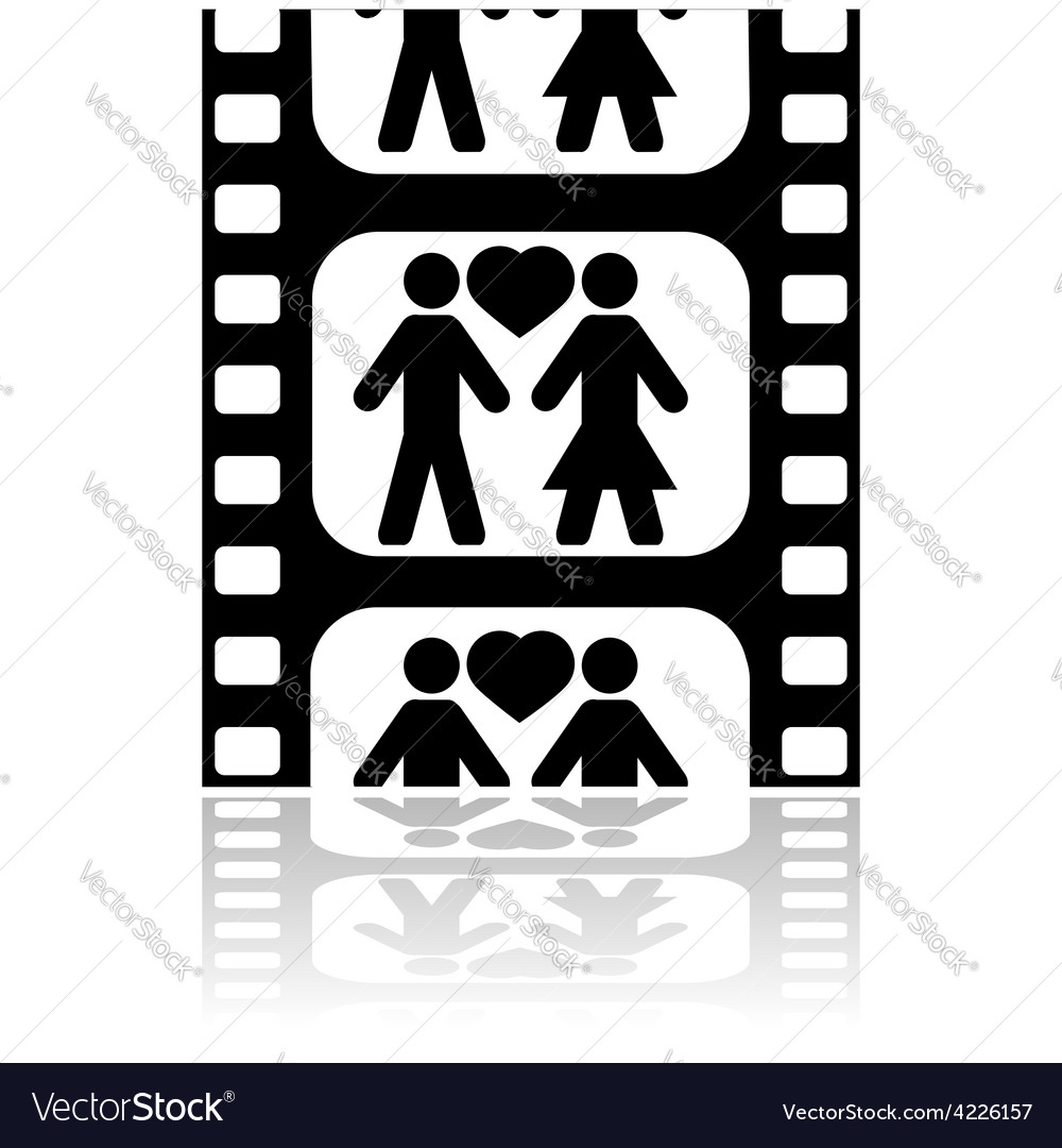 Movie date vector | Price: 1 Credit (USD $1)