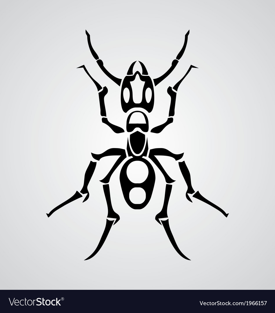 Tribal ant vector | Price: 1 Credit (USD $1)