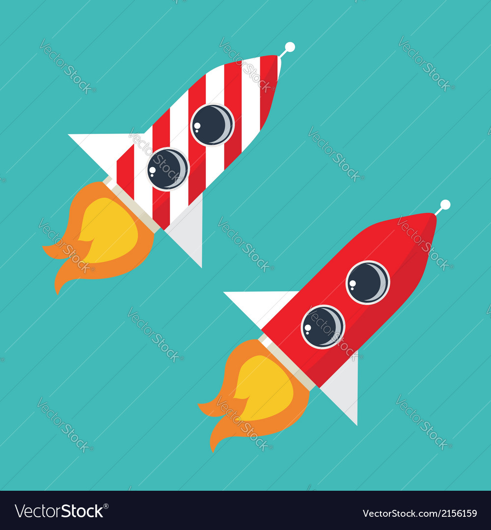 Rocket icon vector | Price: 1 Credit (USD $1)