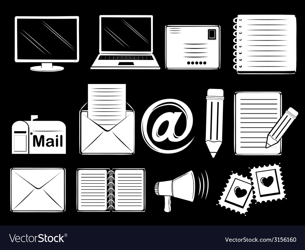 Different communication tools vector | Price: 1 Credit (USD $1)