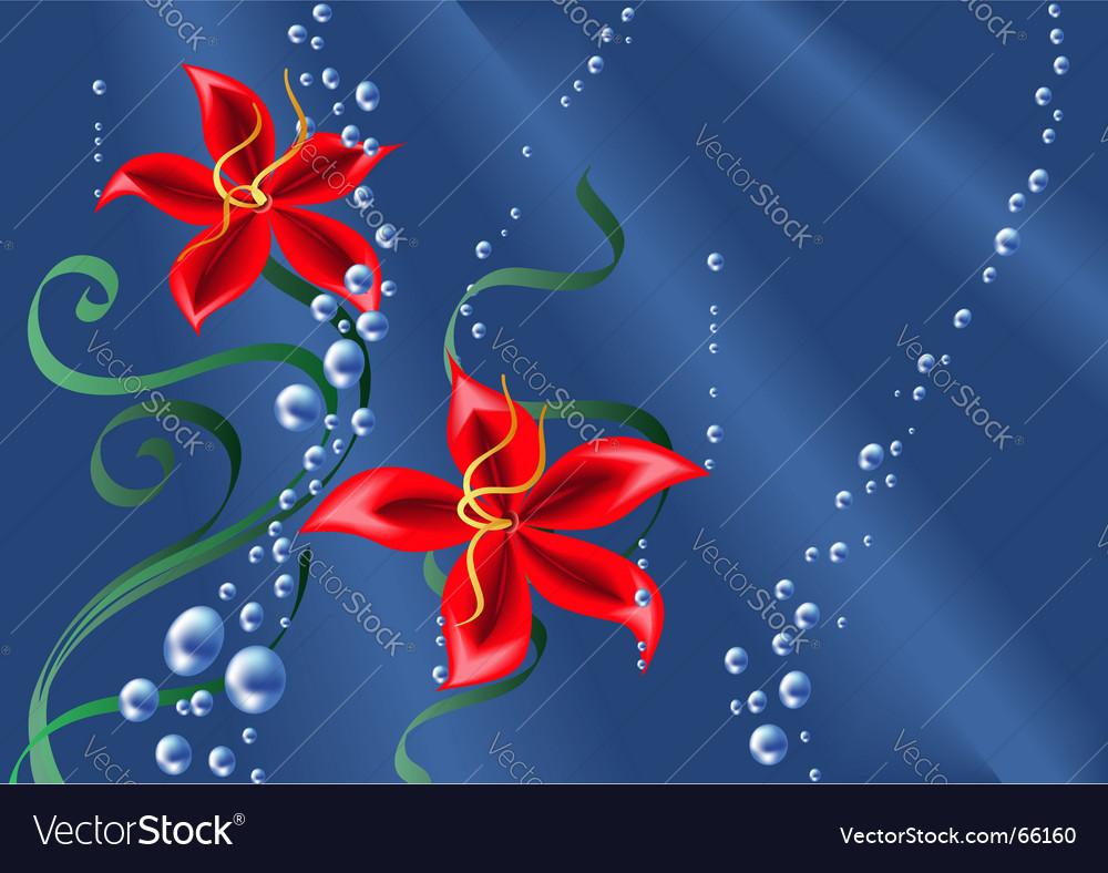 Underwater background vector | Price: 1 Credit (USD $1)