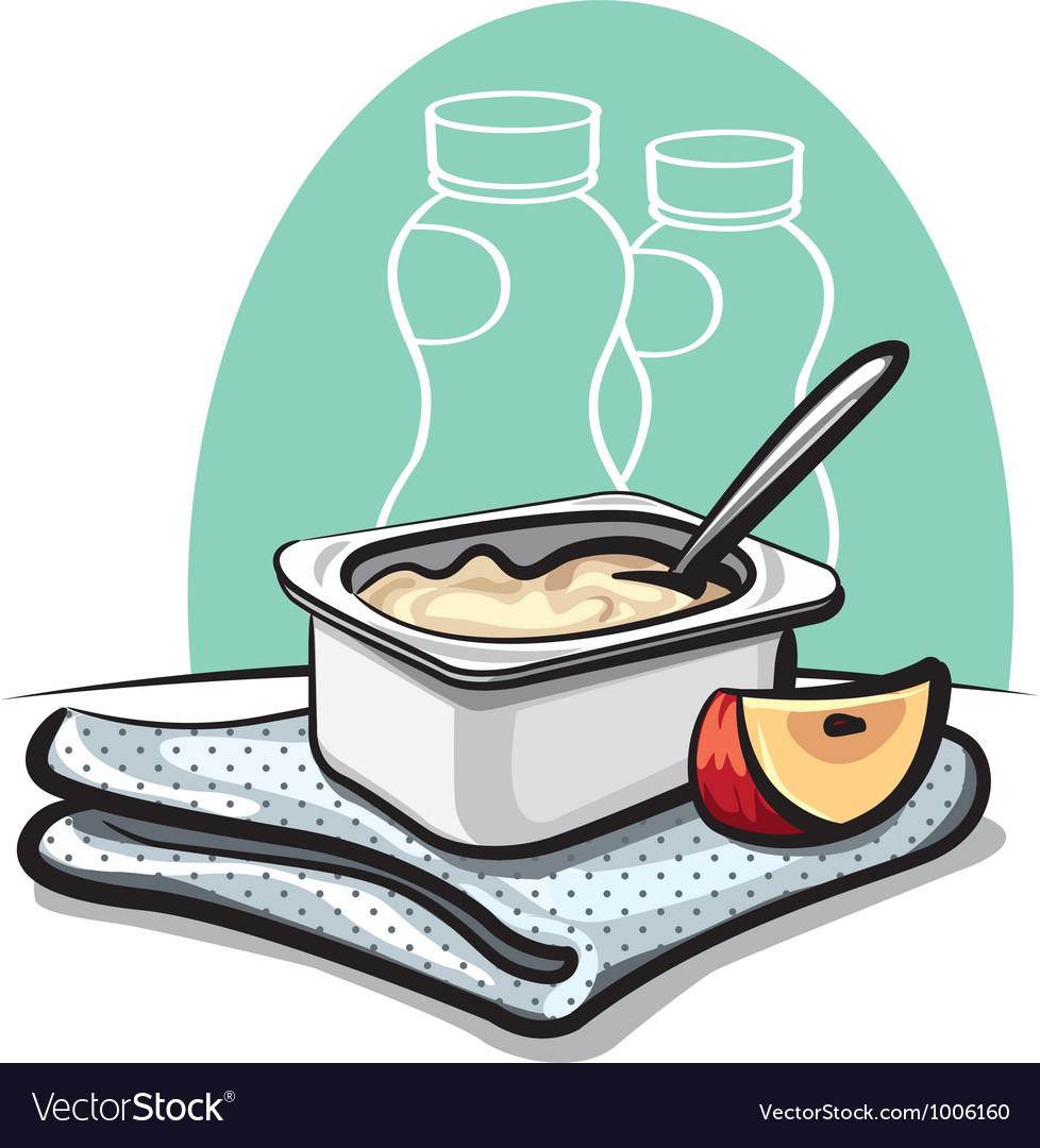 Yogurt vector | Price: 3 Credit (USD $3)