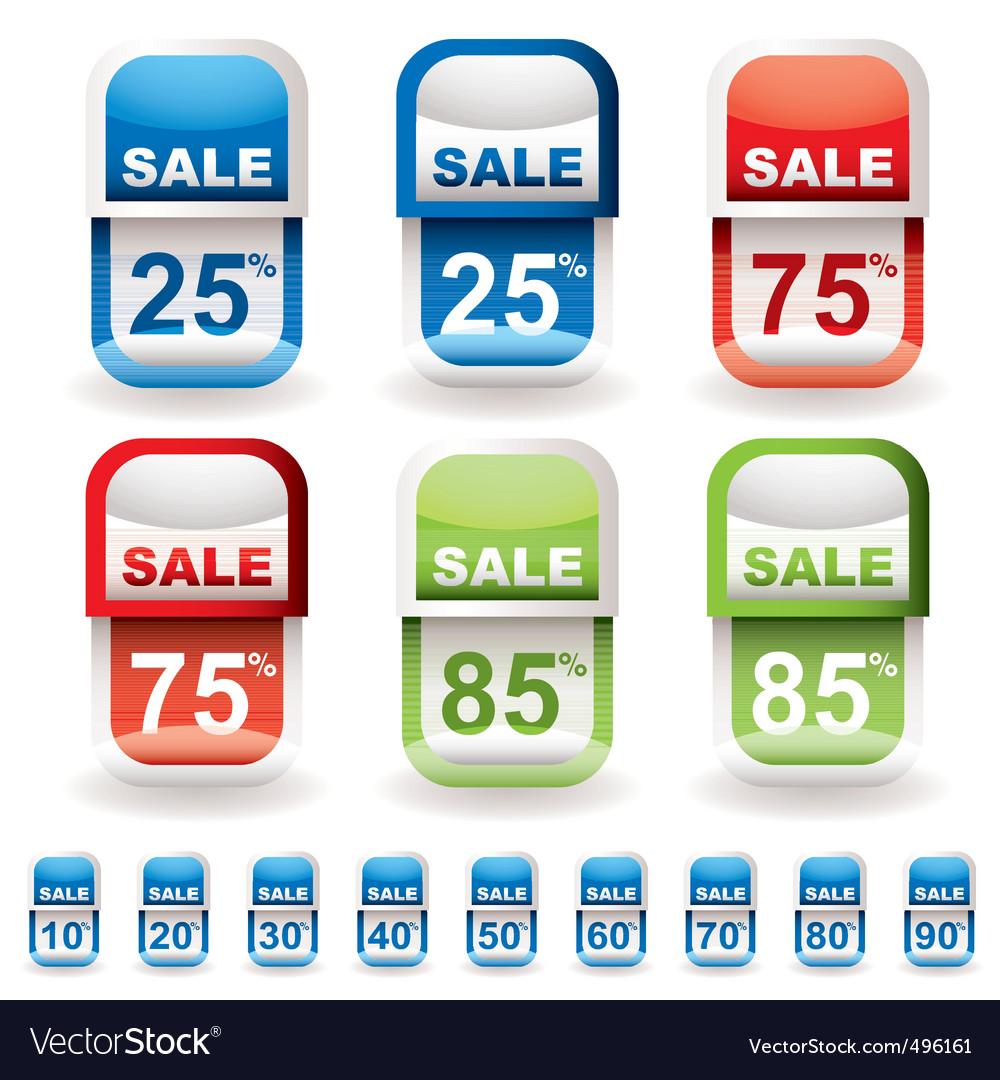 Discount tag sale vector | Price: 1 Credit (USD $1)