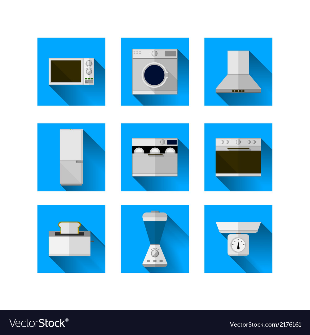 Icons for home equipment vector | Price: 1 Credit (USD $1)