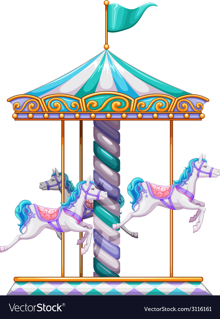 Merry go round vector | Price: 1 Credit (USD $1)