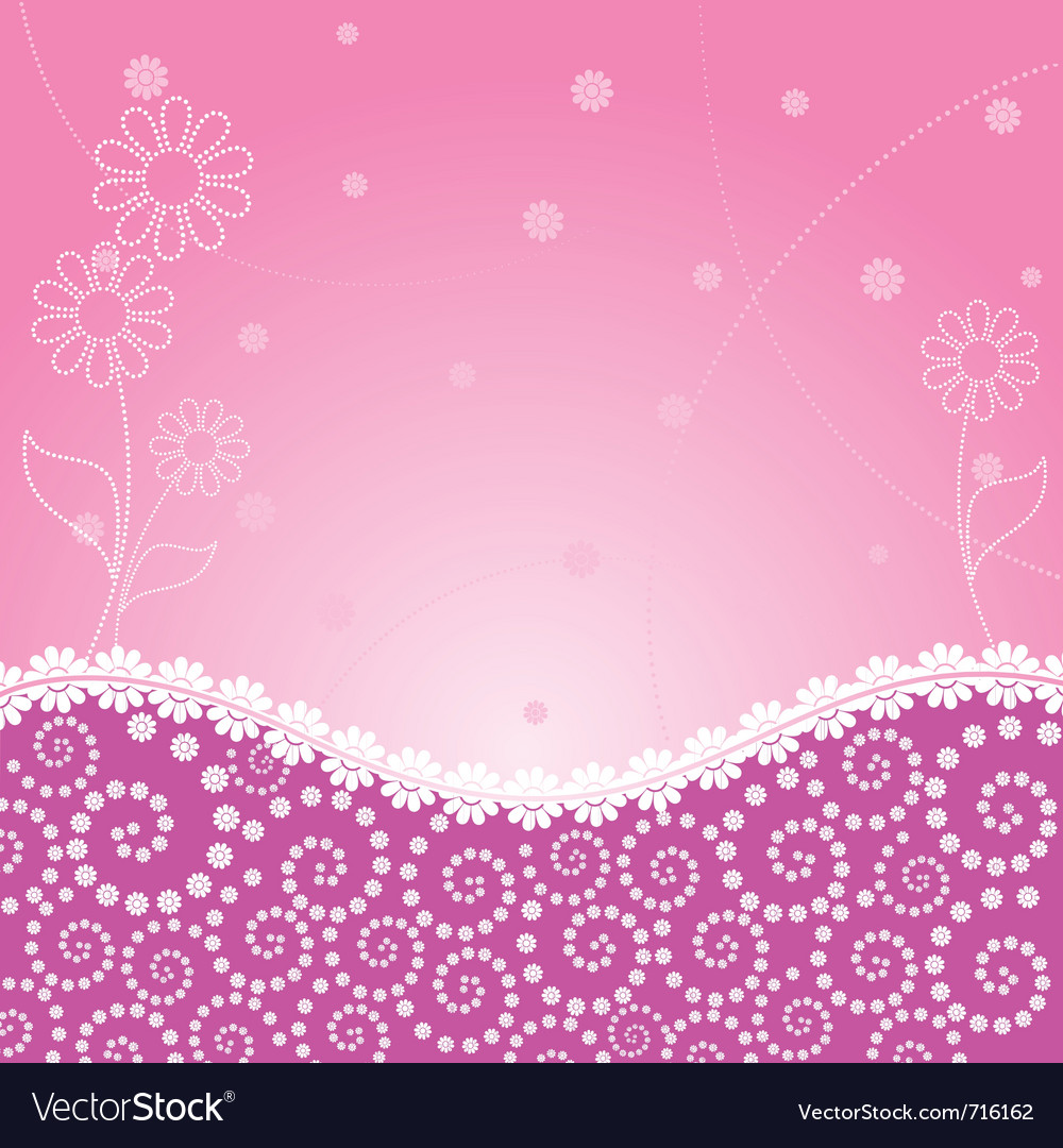 Frame decorated floral vector | Price: 1 Credit (USD $1)