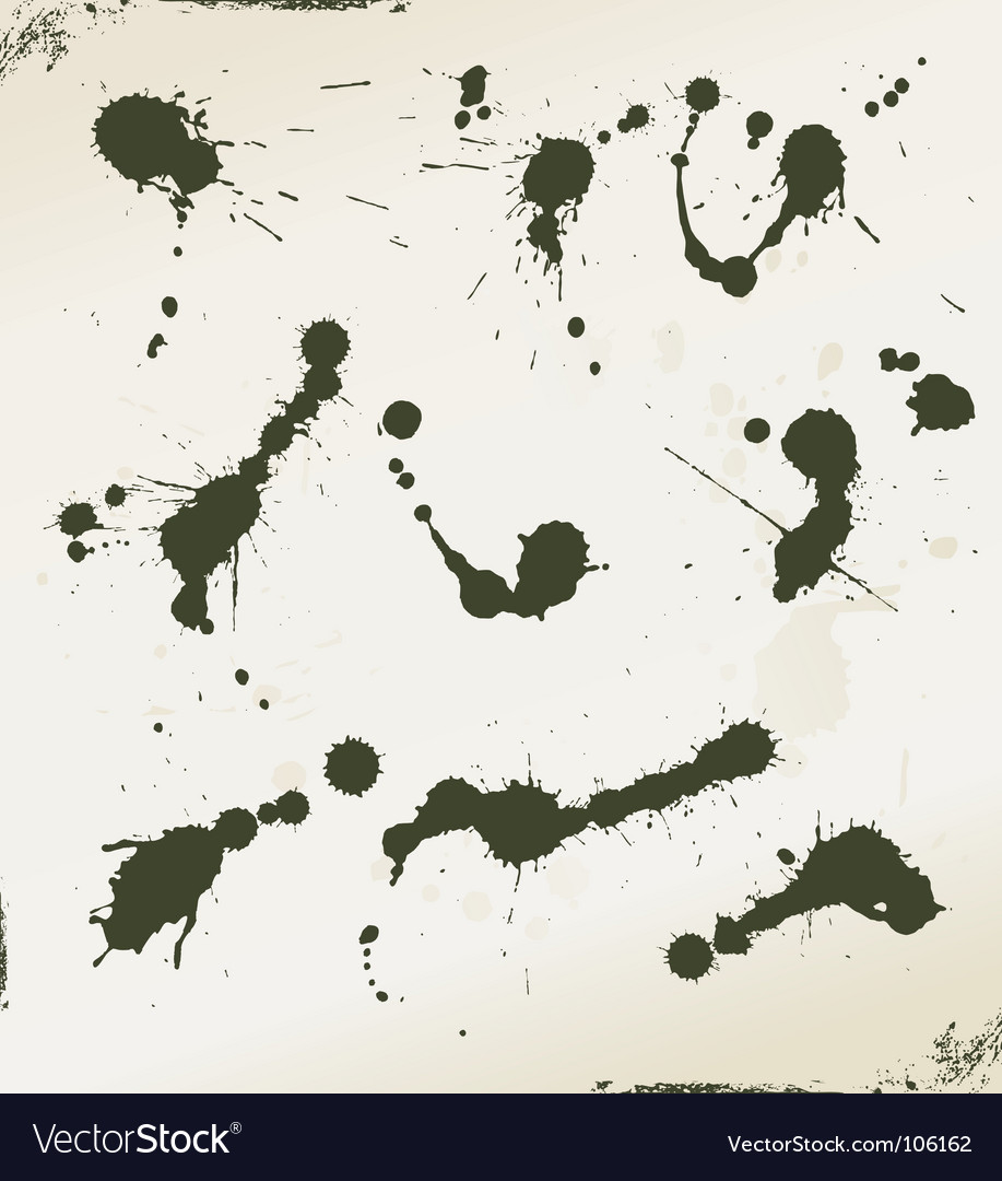 Grunge splatter vector | Price: 1 Credit (USD $1)
