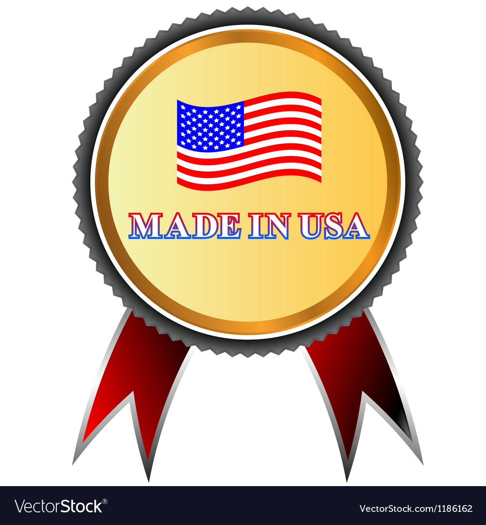 Made in usa icon vector | Price: 1 Credit (USD $1)