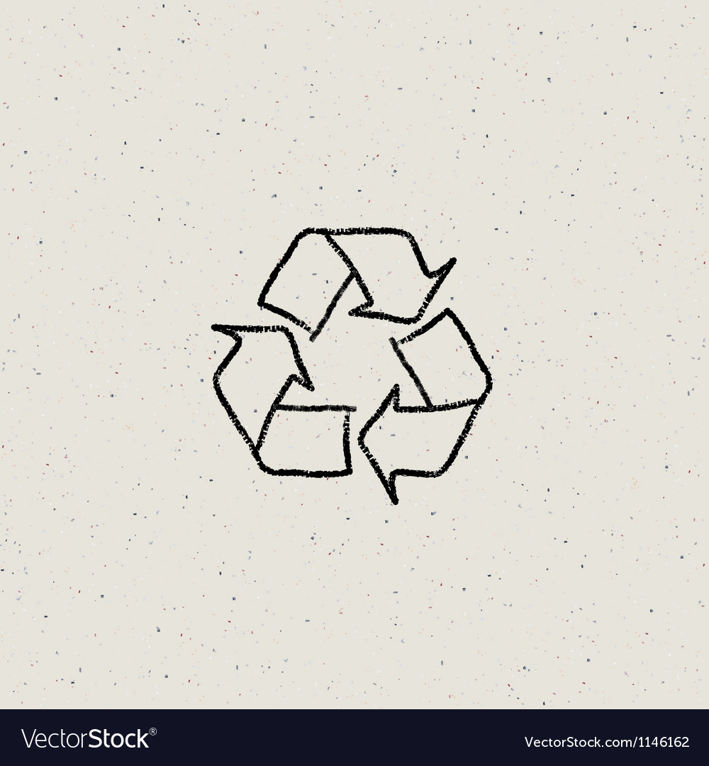 Recycled paper background eps10 vector | Price: 1 Credit (USD $1)