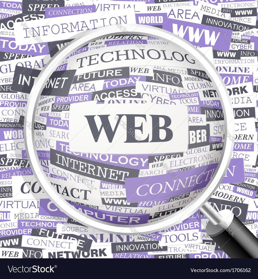 Web vector | Price: 1 Credit (USD $1)
