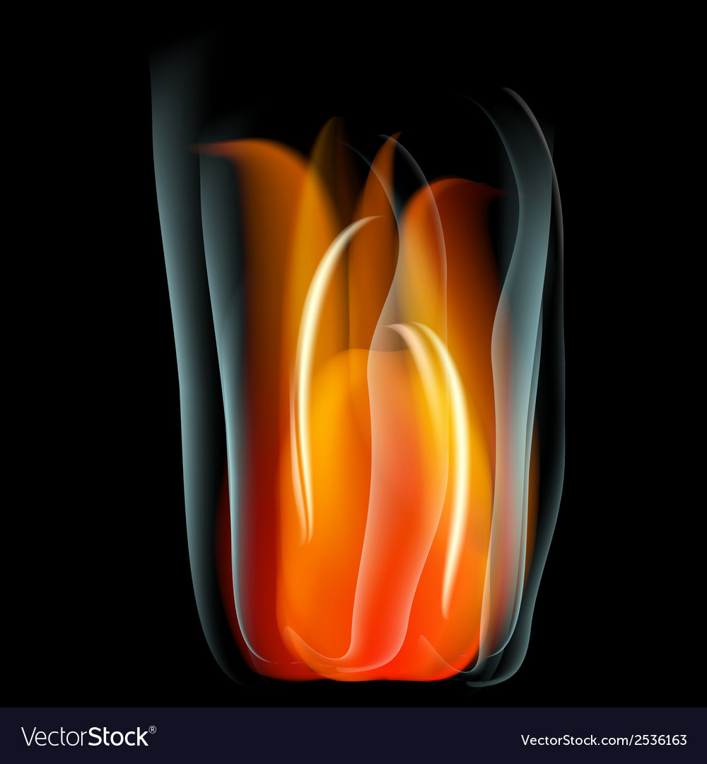 Burn flame fire abstract background vector | Price: 1 Credit (USD $1)