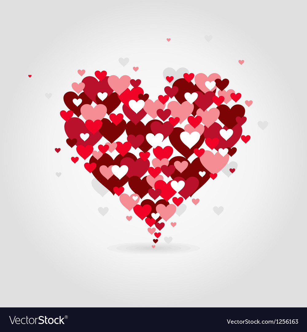Love heart vector | Price: 1 Credit (USD $1)