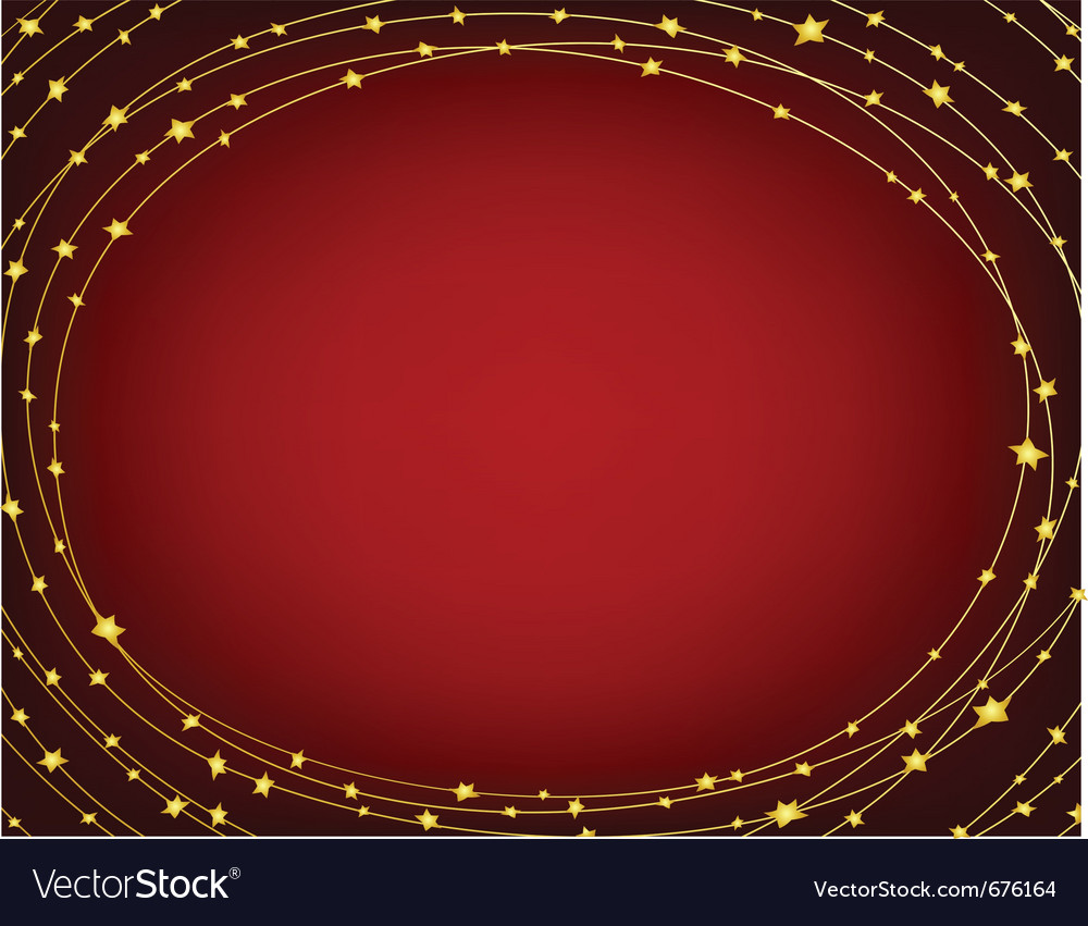 Starry frame vector | Price: 1 Credit (USD $1)