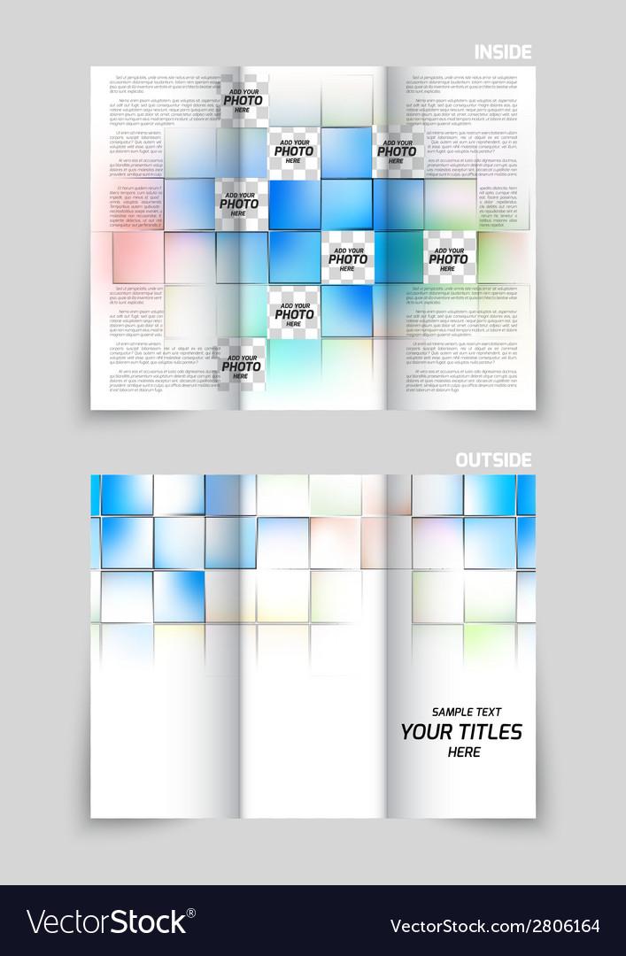 Tri-fold brochure design vector | Price: 1 Credit (USD $1)