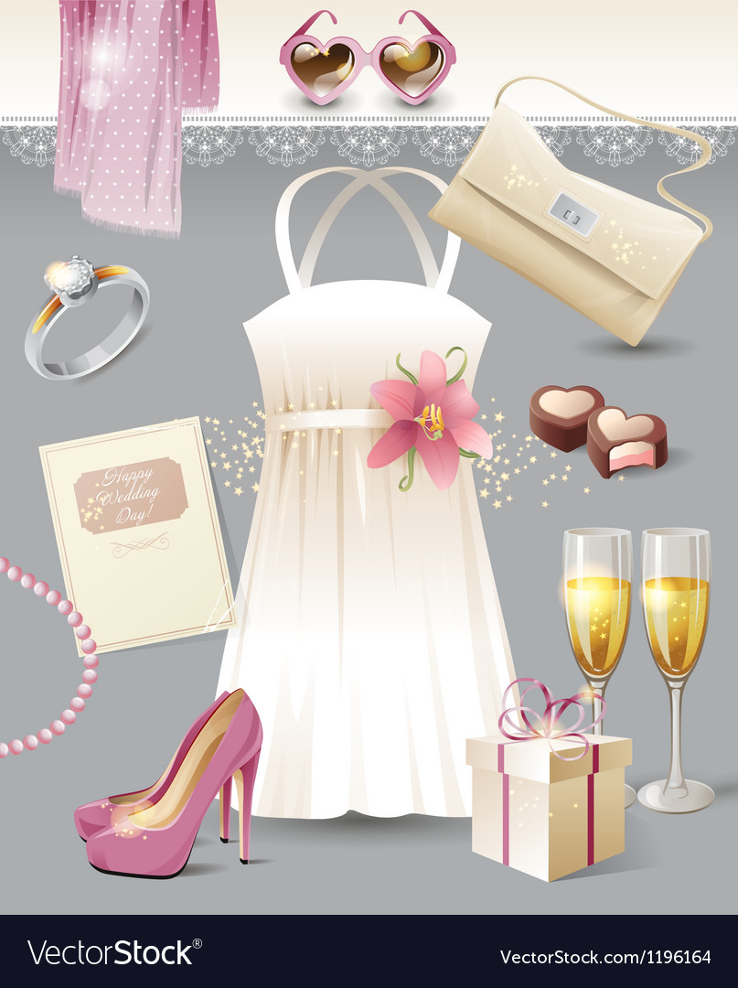 Vintage wedding vector | Price: 1 Credit (USD $1)