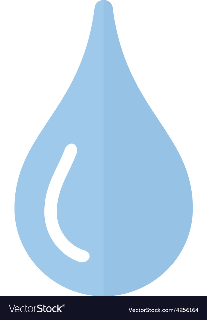 Water droplet vector | Price: 1 Credit (USD $1)