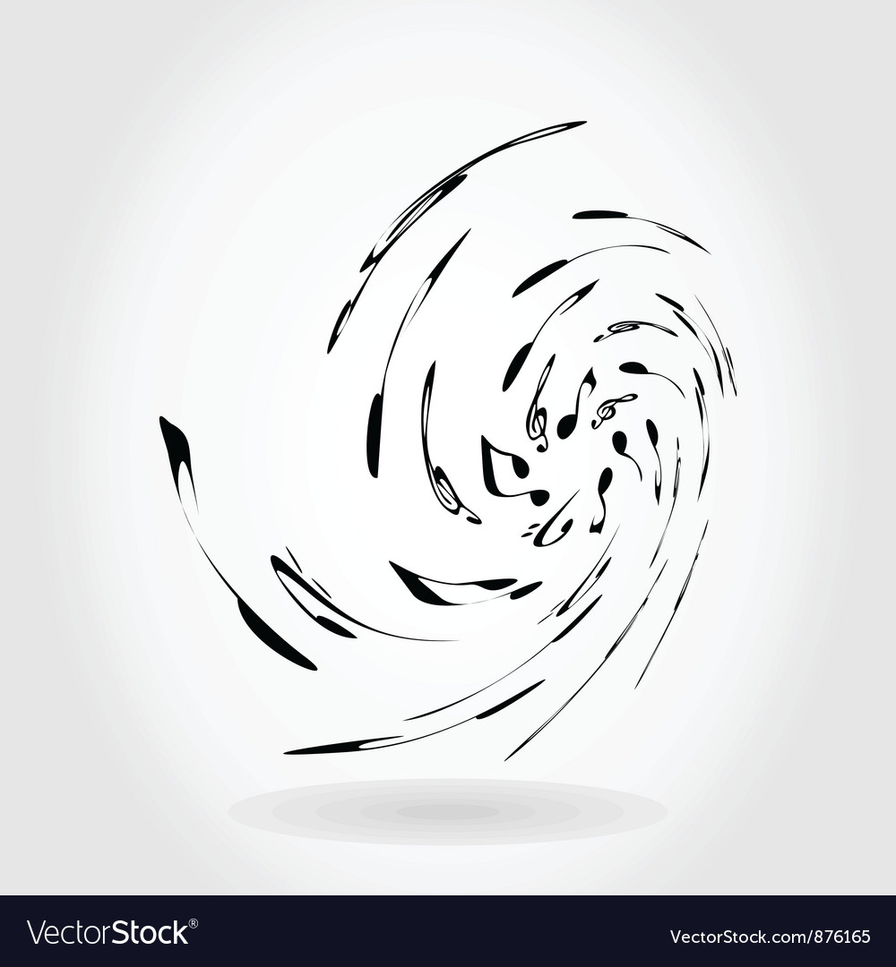 Abstract music vector | Price: 1 Credit (USD $1)