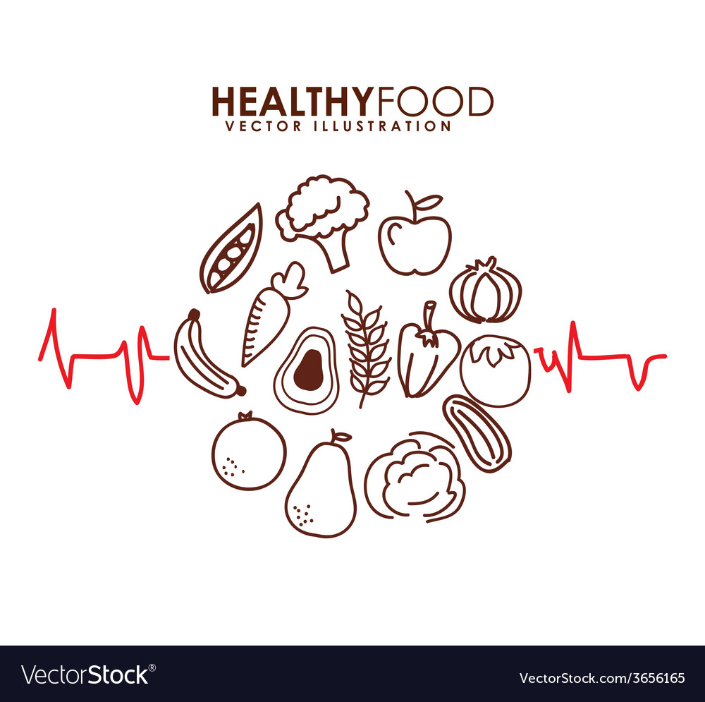 Healthy food vector | Price: 1 Credit (USD $1)
