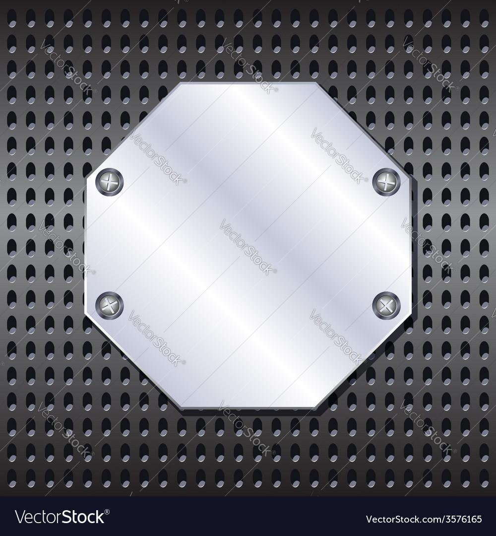 Metal shield vector | Price: 1 Credit (USD $1)