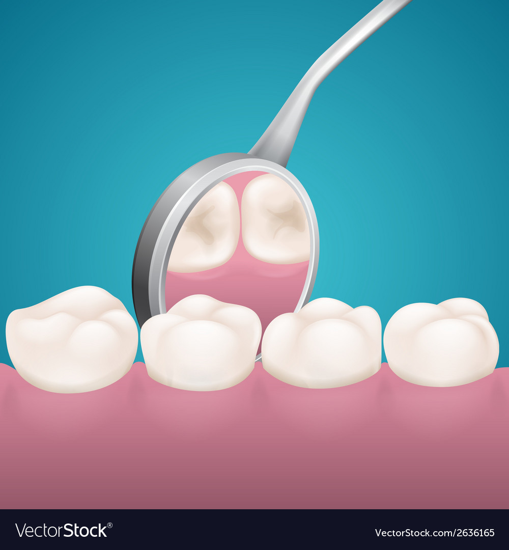 Reception at the dentist vector | Price: 1 Credit (USD $1)