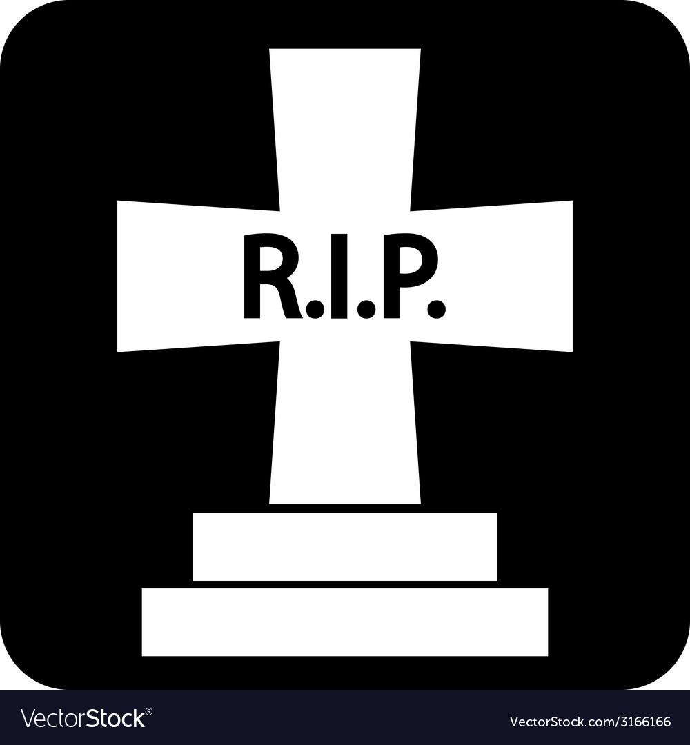 Grave symbol button vector | Price: 1 Credit (USD $1)