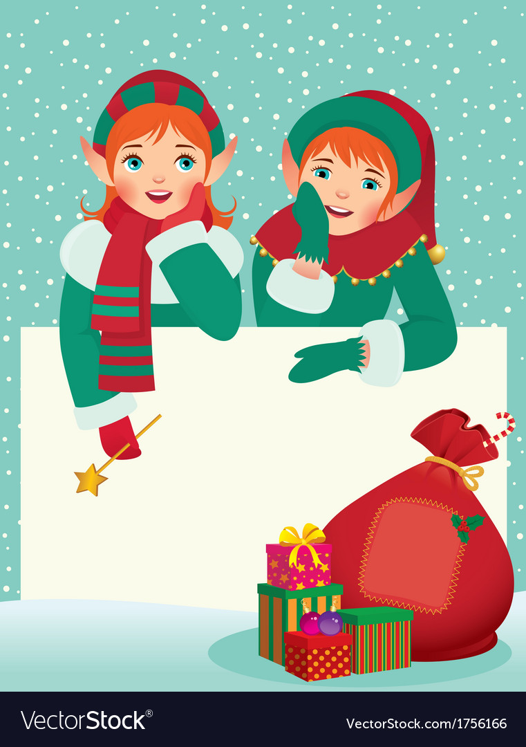 Greeting christmas card vector | Price: 3 Credit (USD $3)