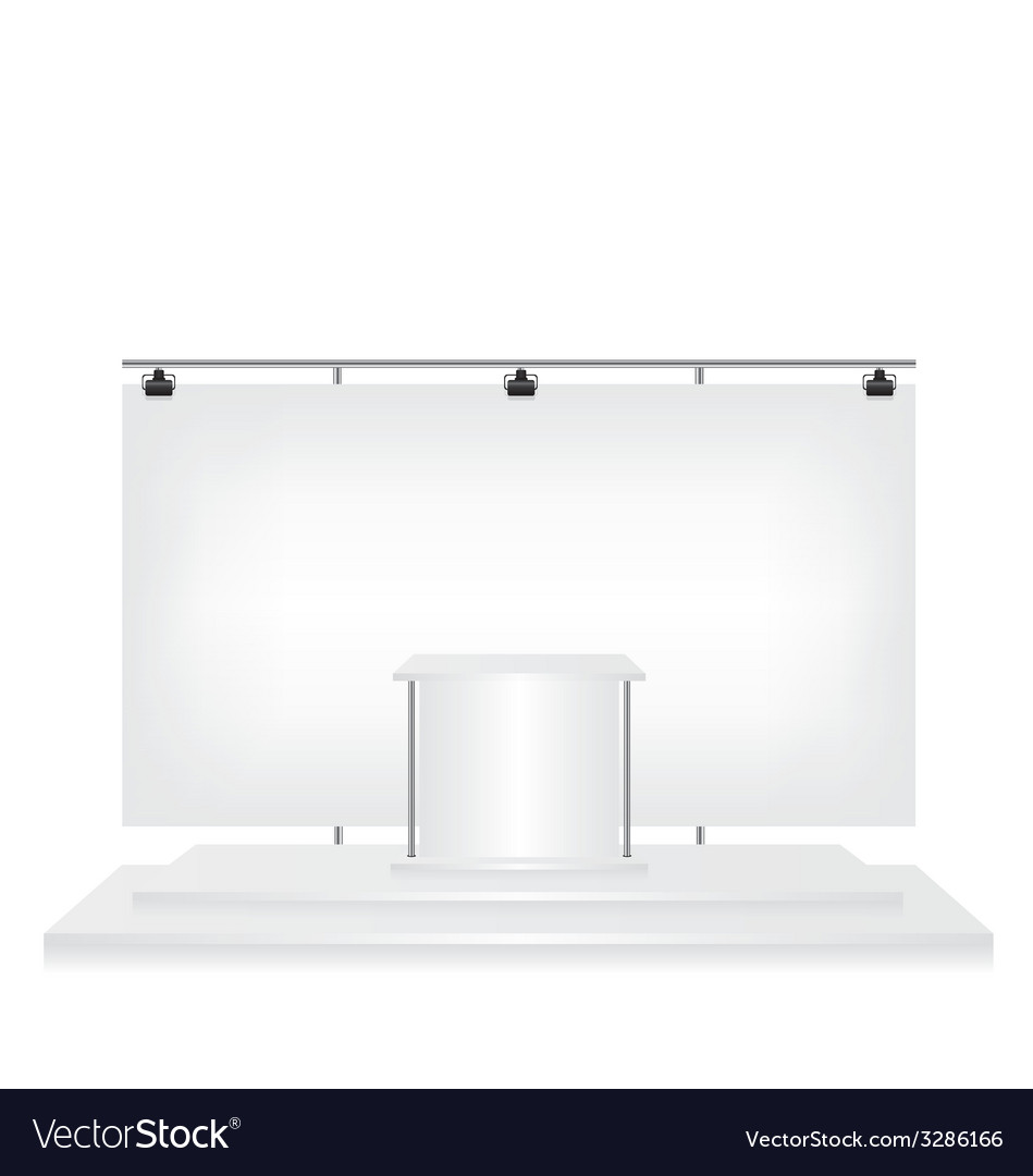 Trade exhibition stand vector   Price: 1 Credit (USD $1)