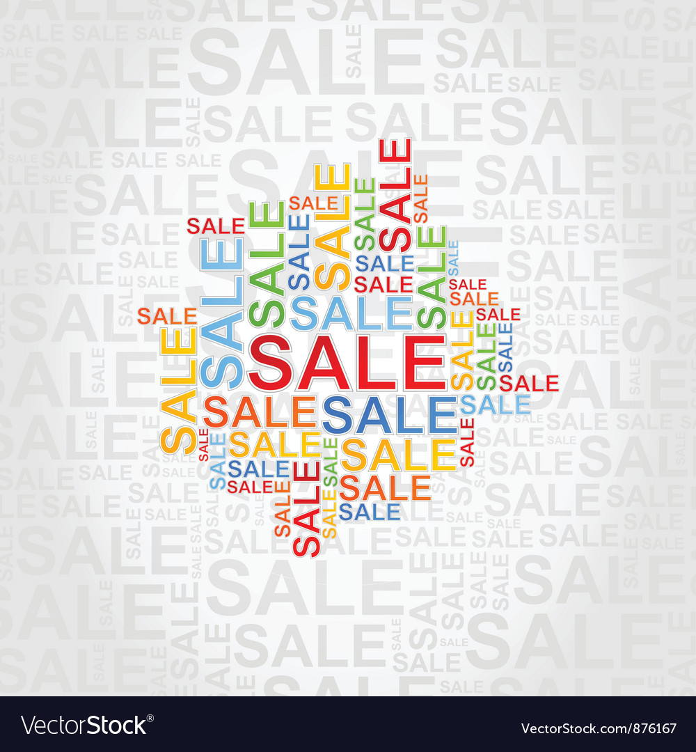 Abstraction sale vector | Price: 1 Credit (USD $1)