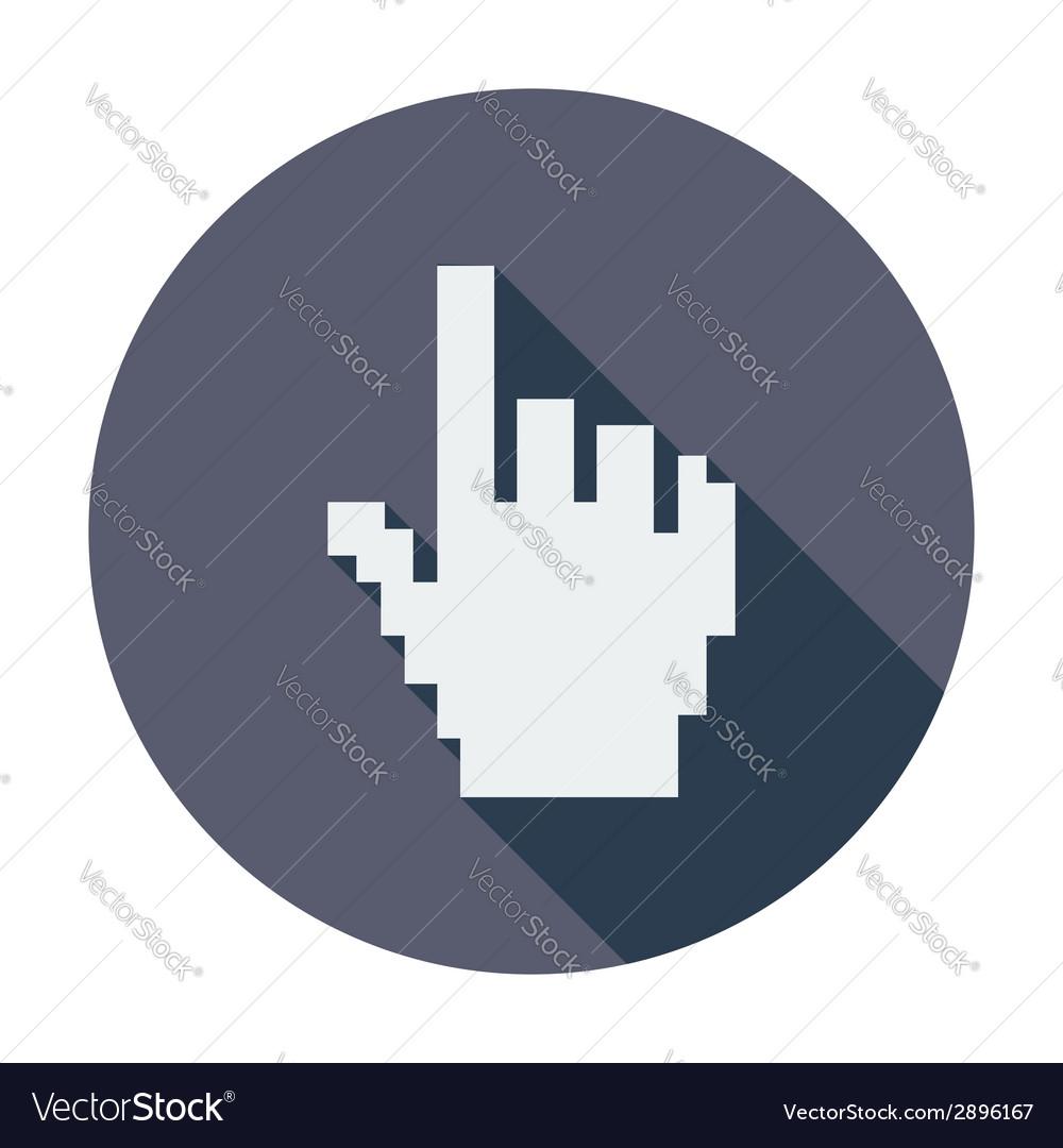 Hand cursor vector | Price: 1 Credit (USD $1)