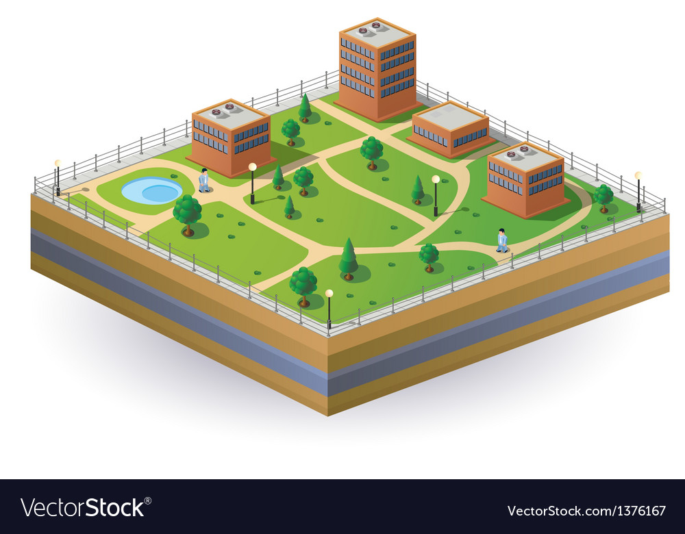 Isometric image vector | Price: 1 Credit (USD $1)
