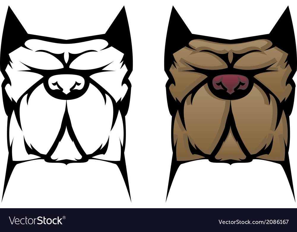 Pit bull vector | Price: 1 Credit (USD $1)