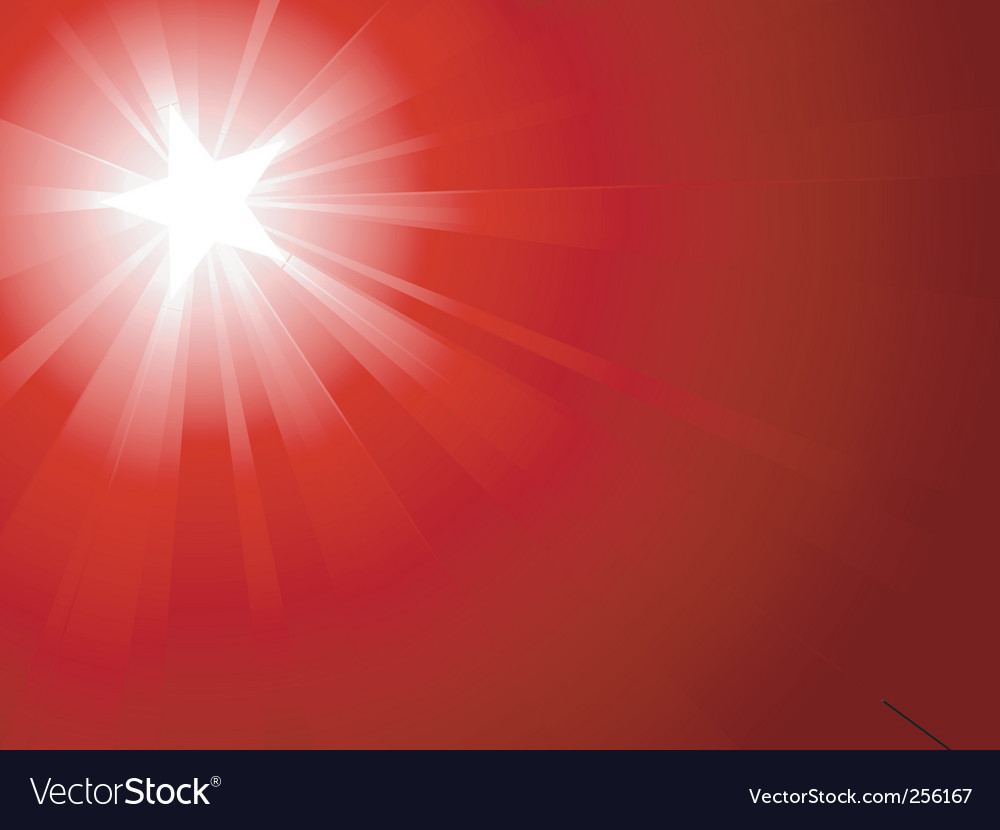 Red light burst vector | Price: 1 Credit (USD $1)