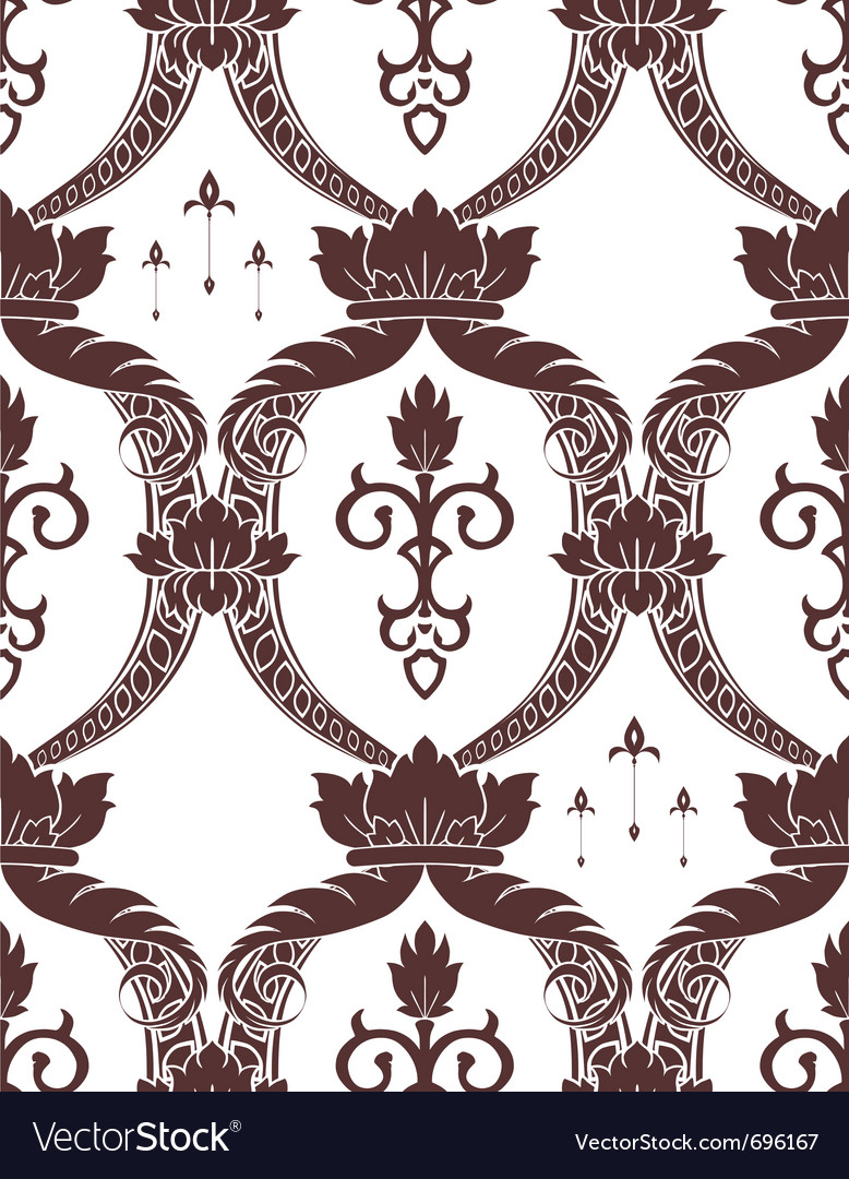 Seamless noble pattern vector   Price: 1 Credit (USD $1)