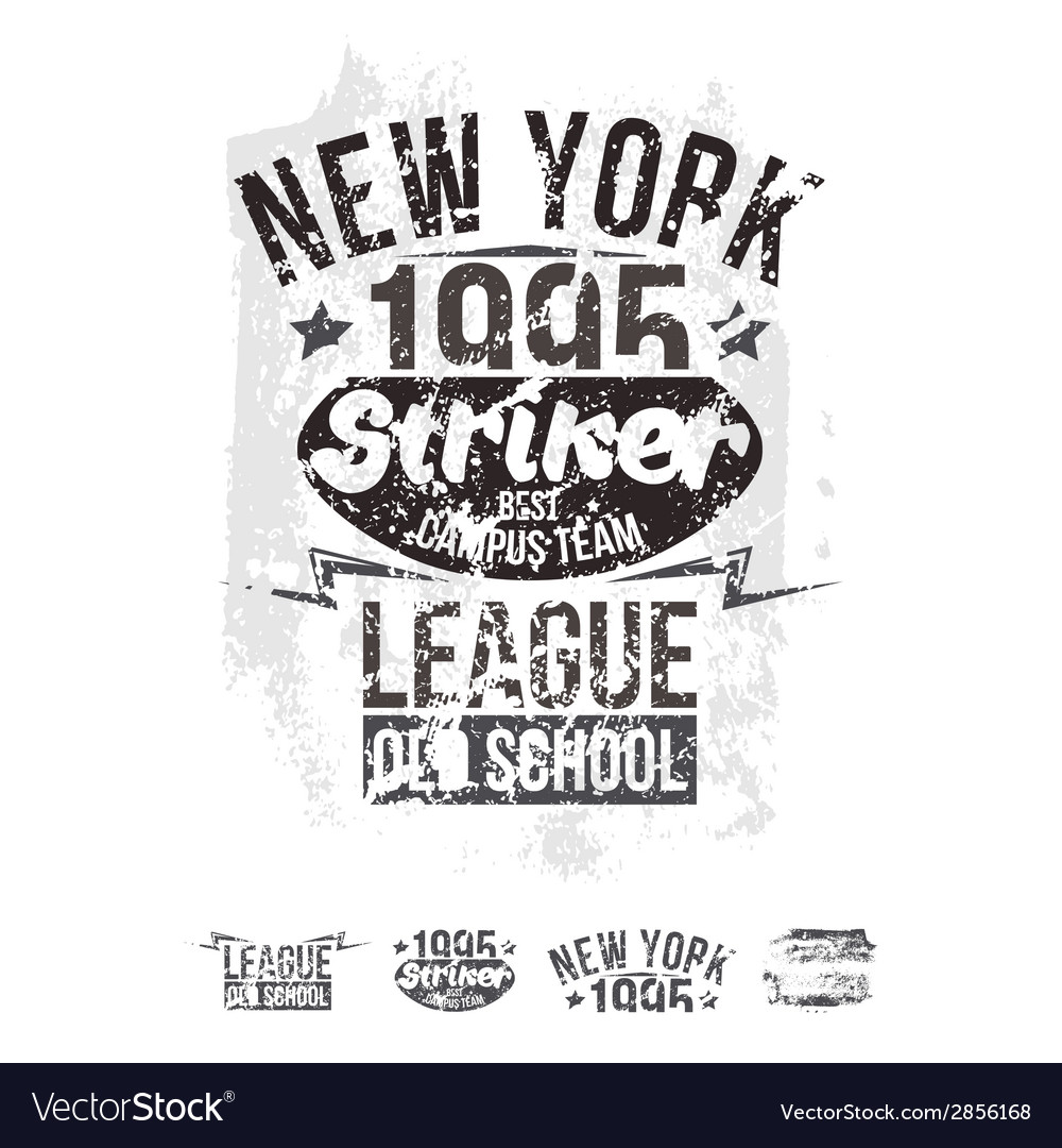 College new york team rugby retro emblem vector | Price: 1 Credit (USD $1)