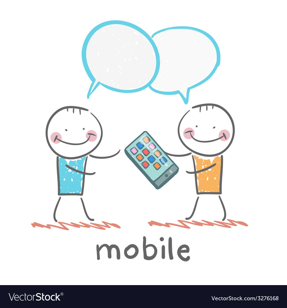 People are talking about mobile vector | Price: 1 Credit (USD $1)