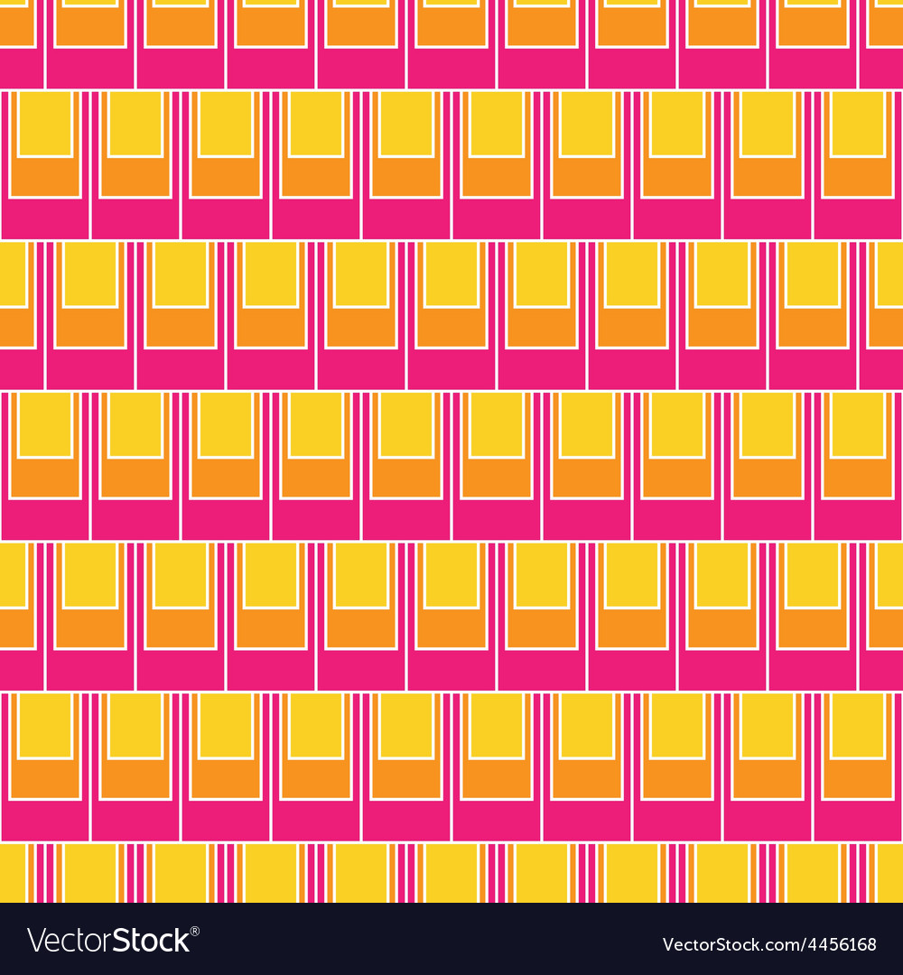 Seamless rectangular tile pattern vector | Price: 1 Credit (USD $1)