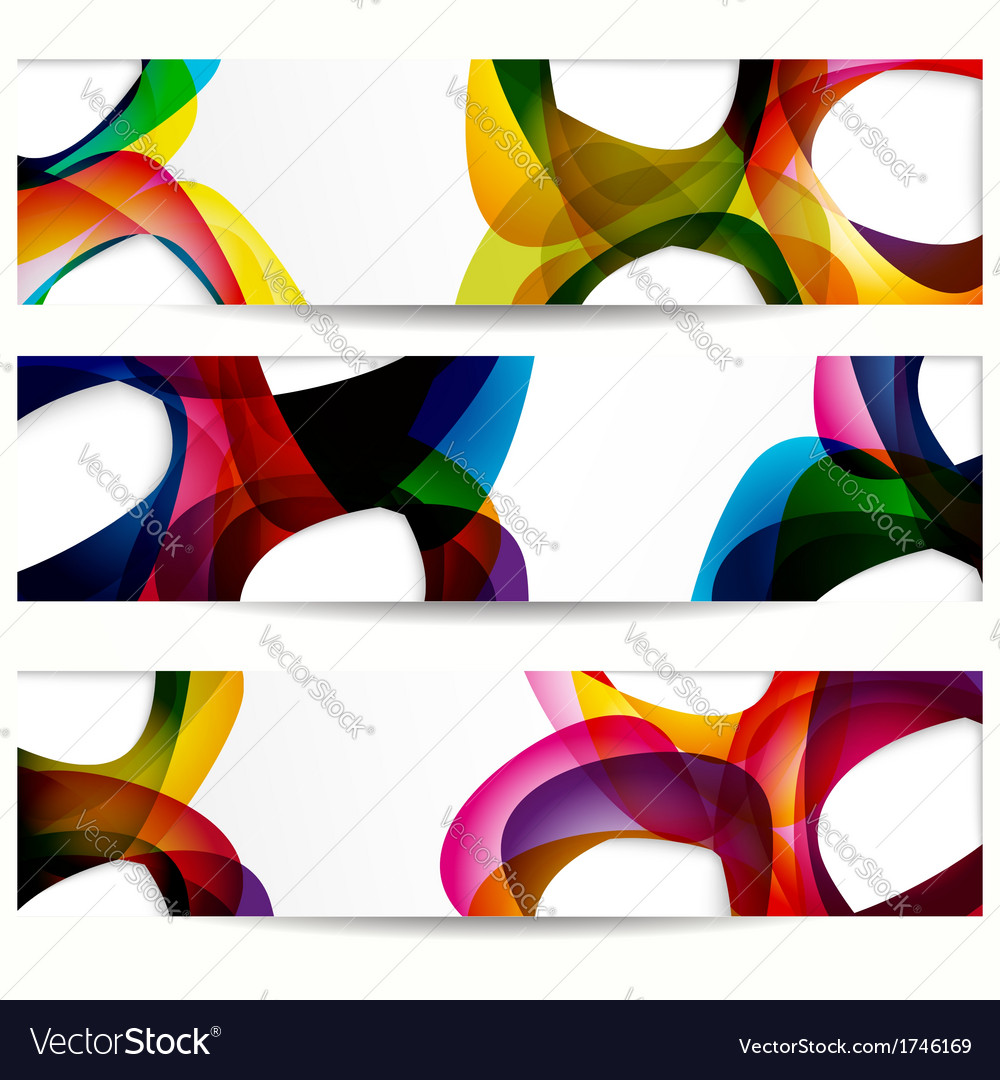 Abstract banner with forms of empty frames for vector | Price: 1 Credit (USD $1)