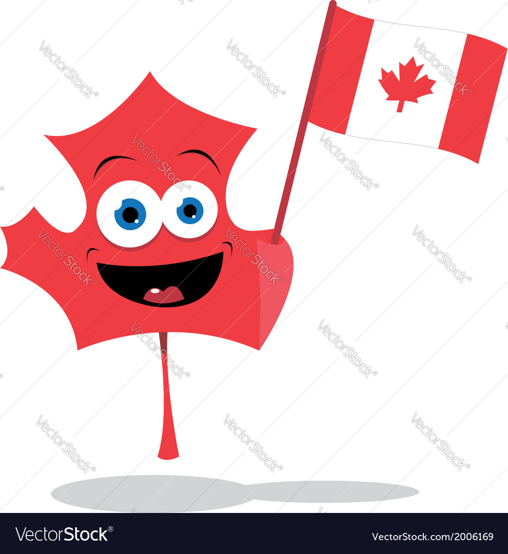 Cute maple leaf vector | Price: 1 Credit (USD $1)