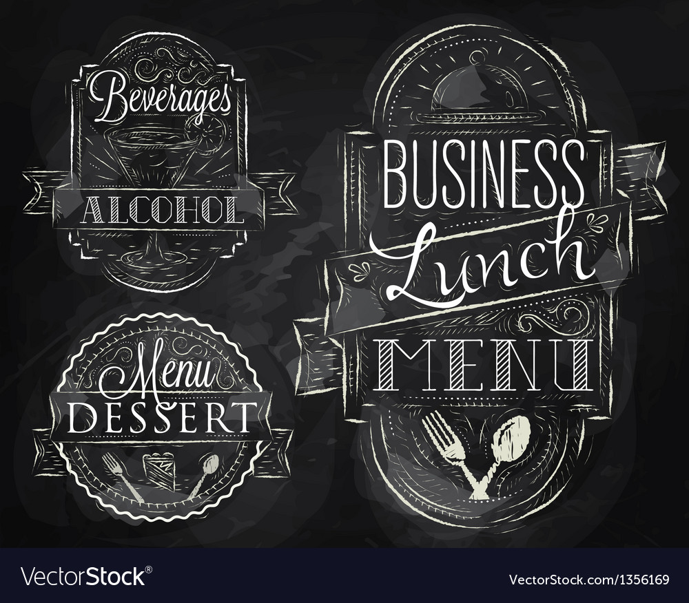Elements restaurant vector | Price: 3 Credit (USD $3)