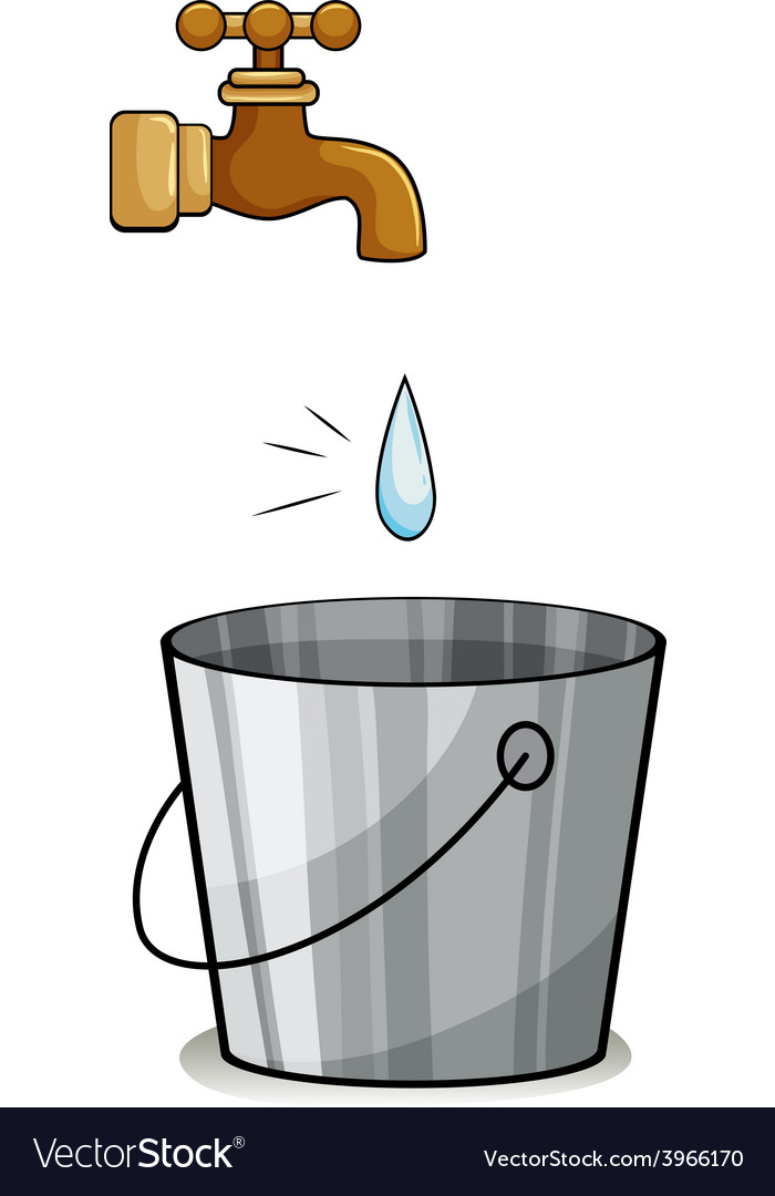 A drop of water vector | Price: 1 Credit (USD $1)