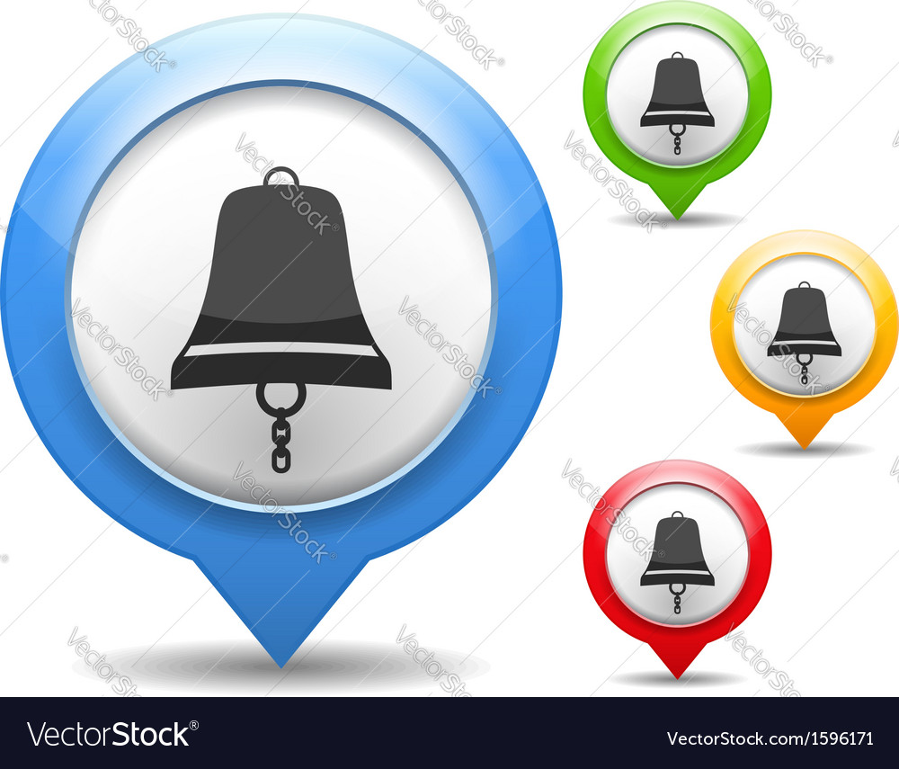 Bell icon vector   Price: 1 Credit (USD $1)