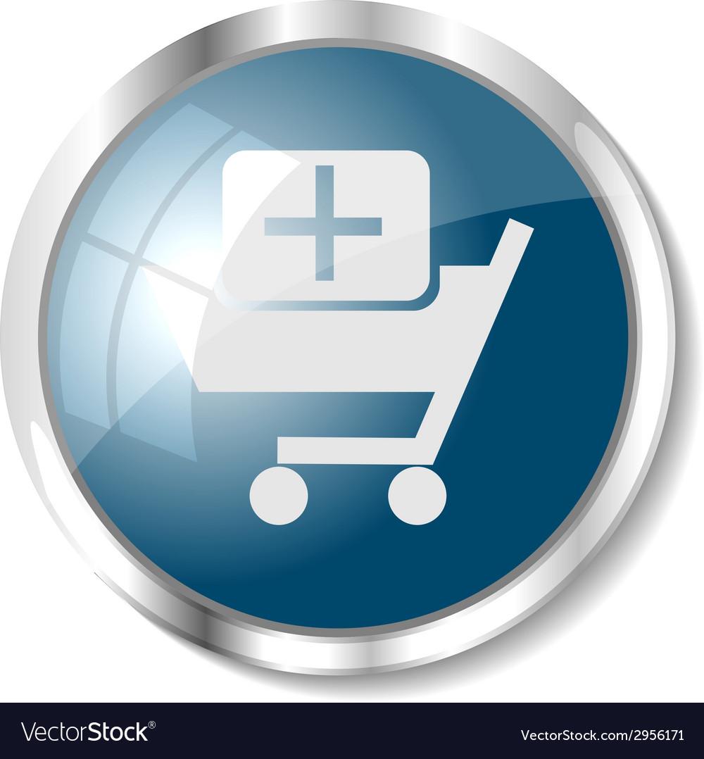 Blue web button vector   Price: 1 Credit (USD $1)
